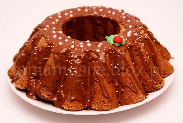 Babka kakaowa w czekoladzie