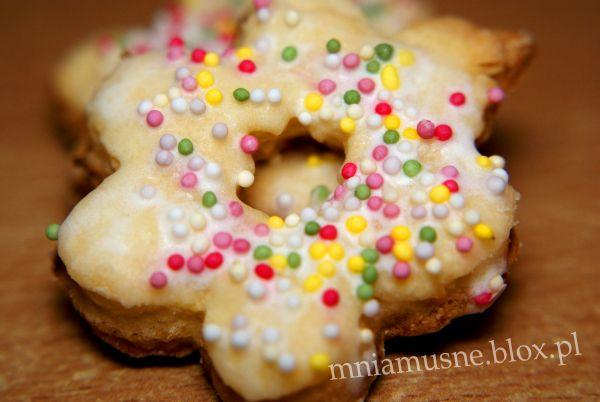 Ciasteczka z kolorową posypką