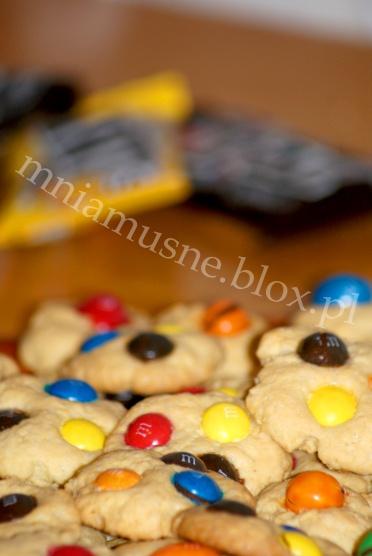 Ciasteczka M&M's