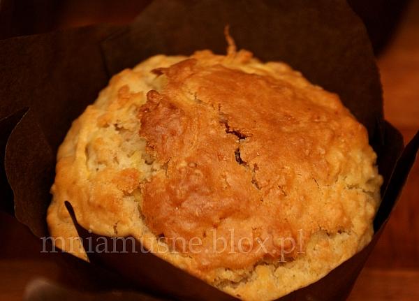 Muffinki  z żurawiną i dynią
