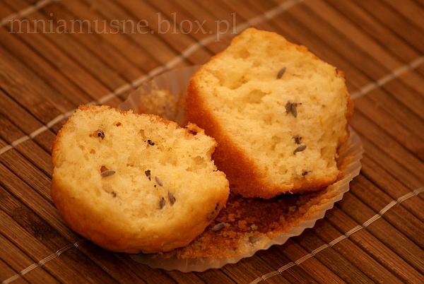 Muffinki cytrynowe z lawendą