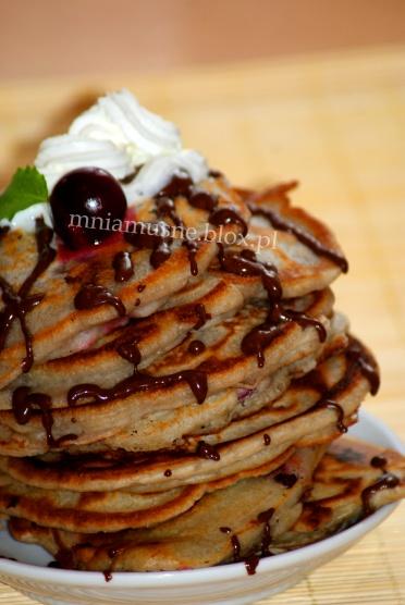 Wiśniowe pancakes