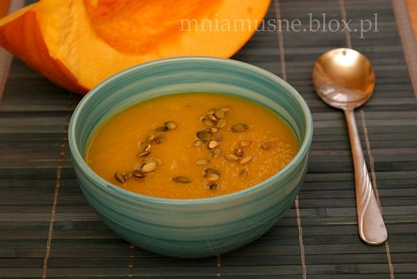 Zupa dyniowo pomarańczowa
